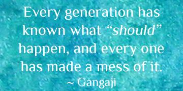 Conscious Activism Dialogue with Gangaji Now Up