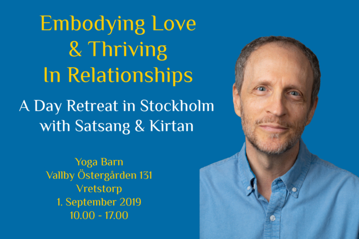 Embodying Love And Thriving In Relationships - Örebro, Sweden