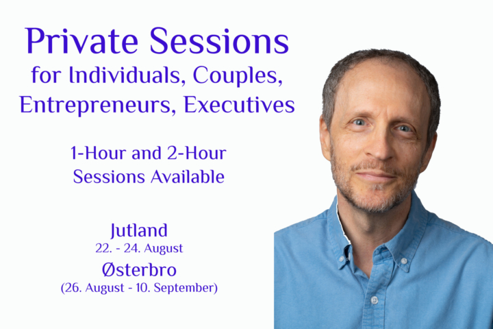 Individual, Couples, Entrepreneur & Executive Coaching Sessions — Denmark